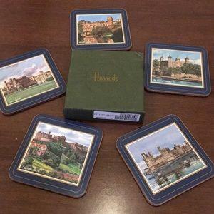 HARRODS British Castle Coasters
